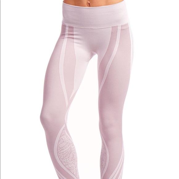 cf2f9c8de891a NUX Pants | Nwt Vintage Rose Seamless Legging | Poshmark